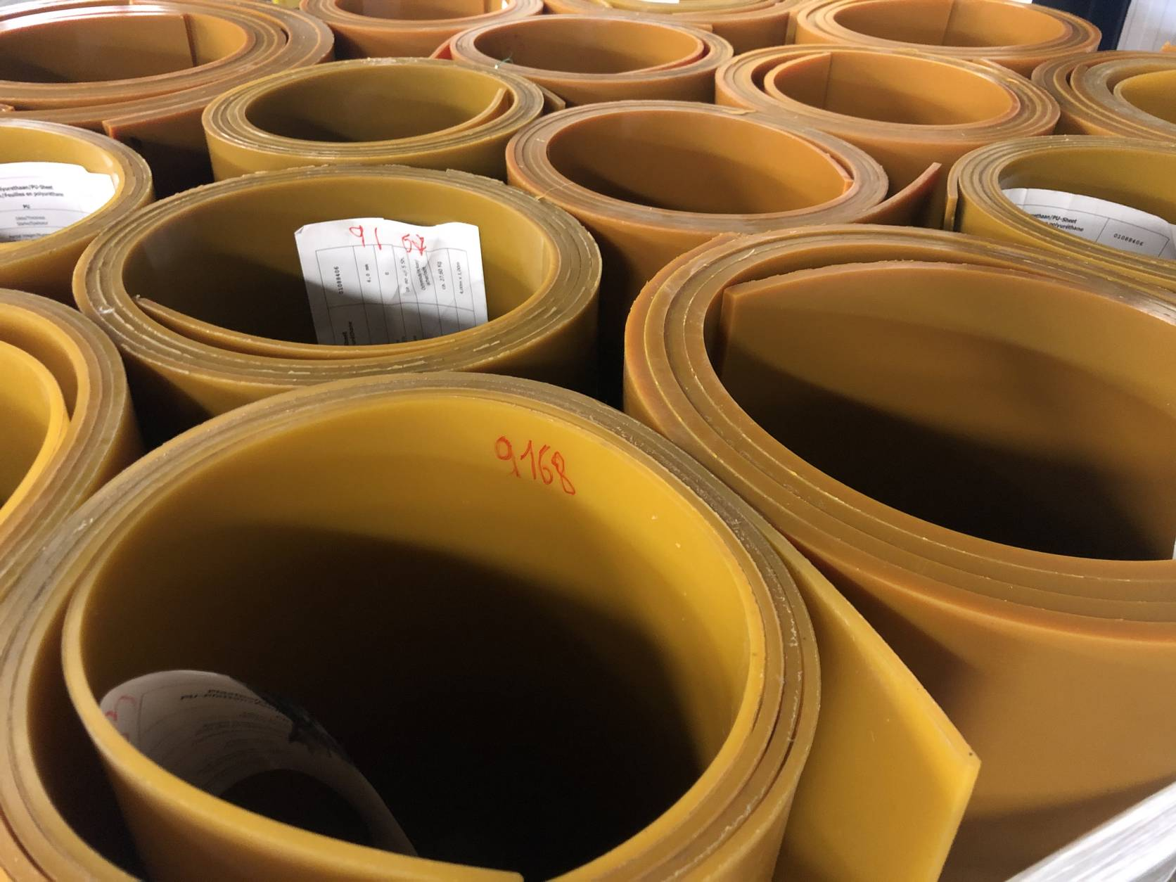 Poly-Urethane Sheets - In Stock at RotaBelting Belgium
